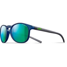 Julbo Fame Spectron 3CF Lunettes de soleil 10-15 ans Enfant, matt translucent blue-multilayer green